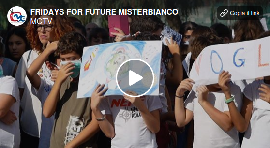 Fridays for future a Misterbianco